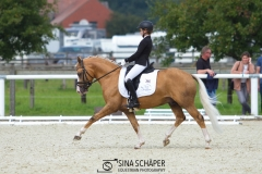 Lara Stoll und Diamond Touch